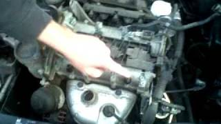 getlinkyoutube.com-How to remove a Seat Ibiza engine cover to change air filter