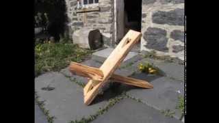 getlinkyoutube.com-How to make a Celtic Viking Stargazer chair