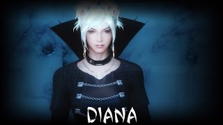 getlinkyoutube.com-Skyrim: Diana the Pure Blood Vampire Follower