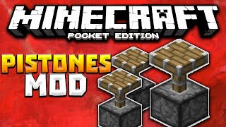 Minecraft PE 0.16.0 MODS - PISTONES MOD PARA MINECRAFT PE (POCKET EDITION) 0.16.0