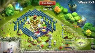 getlinkyoutube.com-Castle Clash Vlad HBM R Solo