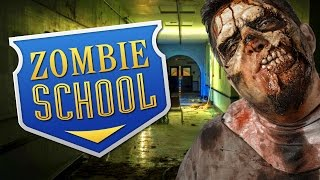 getlinkyoutube.com-ZOMBIE SCHOOL ★ Call of Duty Zombies Mod (Zombie Games)