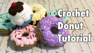 getlinkyoutube.com-Tutorial: Donas a Crochet - Crochet Donut (English Subtitles)