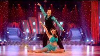 getlinkyoutube.com-SCD Kelly Brook & Brendan Cole Samba (Week 8)