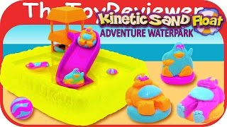 getlinkyoutube.com-Kinetic Sand Float Adventure Waterpark Target Exclusive Unboxing Toy Review by TheToyReviewer