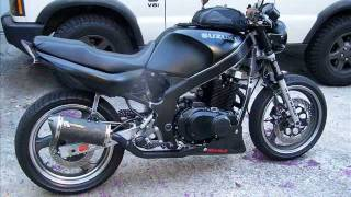 getlinkyoutube.com-GS500 Suzuki Streetfighter Build