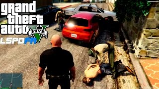 getlinkyoutube.com-GTA 5 LSPDFR 0.2a Update GTA 5 Police Patrol #6