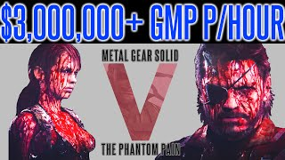getlinkyoutube.com-MGSV Phantom Pain - INFINITE MONEY FARM EXPLOIT TIP | $3 MILLION+ GMP P/Hour | Metal Gear 1.08 Works