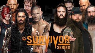 getlinkyoutube.com-Survivor Series 2015 Dream Match Card