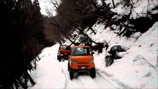 getlinkyoutube.com-SUZUKI CARRY SNOW ATTACK