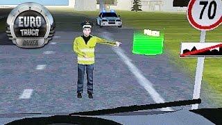 getlinkyoutube.com-Euro Truck Driver -  Blitz Policial na Estrada