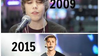 getlinkyoutube.com-Justin Bieber's Performances 2009-2015 – The Evolution