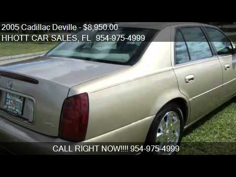 2005 Cadillac Deville DTS for sale in Deerfield Beach, FL 33
