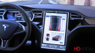 getlinkyoutube.com-Tesla Model S 85 kWh performance test drive da HDmotori.it
