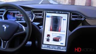 Tesla Model S 85 kWh performance test drive da HDmotori.it