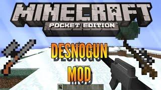 getlinkyoutube.com-DesnoGUNS - MOD - Minecraft PE - 0.15.0/0.16.0 - DOWNLOAD