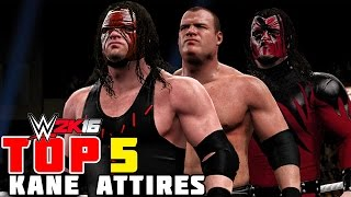 getlinkyoutube.com-WWE 2K16 - Kane Top 5 Attires!!