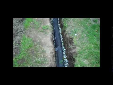 How To Install A Drainage Pipe