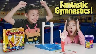 getlinkyoutube.com-FANTASTIC GYMNASTICS CHALLENGE!!! Loser Gets Bean Boozled!