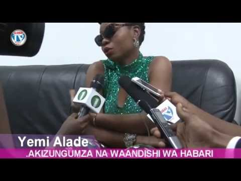 Yemi Alade Night of Hope Tanzania 2014