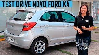 getlinkyoutube.com-Test Drive Novo Ford Ka 2015 1.0 SEL