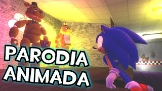 getlinkyoutube.com-Five Nights at Sonic´s - ( Spanish fandub ) Parodia animada