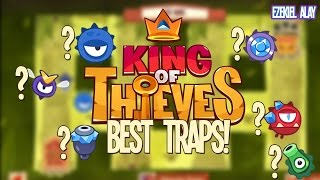 King of Thieves: TOP 6 TRAPS!!!