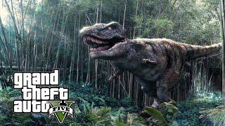 getlinkyoutube.com-Increible un Dinosaurio en GTA 5 ubicación y localizacion | Easter Egg GTA V