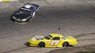 Rockford Speedway's Spring Classic - Feature Wreck