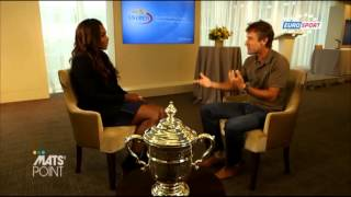 getlinkyoutube.com-Interview with Serena Williams (MATS POINT 10.09.2013)