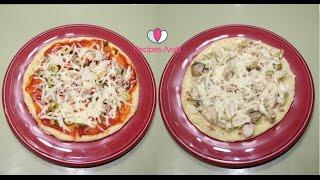 getlinkyoutube.com-تحضير البيتزا بشكلين متنوعين بطريقة ساهلة وناجحة ان شاء الله