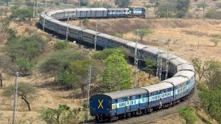 The Daddy of all S-curves over Indian Railways Network!