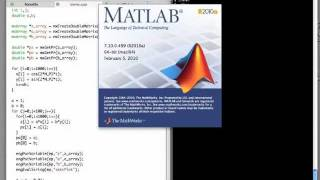 C++ to Matlab