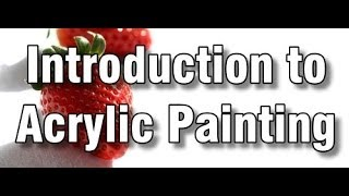 getlinkyoutube.com-introduction to acrylic painting - how to paint with acrylics - paint along art class