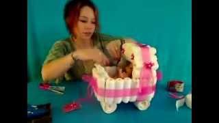 getlinkyoutube.com-Elyapımı bebek arabası