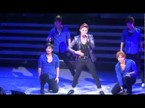 [HD] (Fancam) 100912 XIA Junsu 1st World Tour in CHILE - Uncommitted