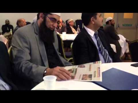 Junaid Jamshed in sheffield al Habeeb Ilmnews paper
