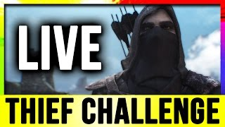 getlinkyoutube.com-Skyrim Live - Thief Challenge Build! (Lets Play Walkthrough)!