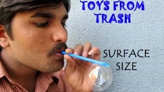 getlinkyoutube.com-SURFACE SIZE - TAMIL - Fun with Soap Bubbles!