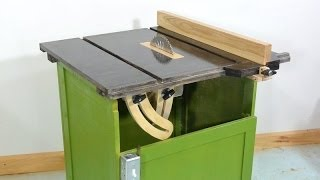 getlinkyoutube.com-Homemade table saw - what I'd do different next time