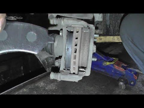 Замена передних тормозных колодок Chery E5