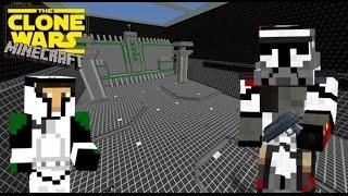 "getlinkyoutube.com-Star Wars Th Clone Wars ""The Citadel on Kamino ( Training )"" in Minecraft"