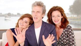 getlinkyoutube.com-Doctor Who @ Comic-Con 2015! Peter Capaldi! Jenna Coleman!
