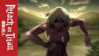 getlinkyoutube.com-Attack on Titan – Official Clip – The Female Titan Appears!
