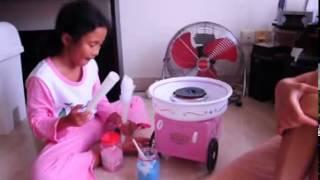 getlinkyoutube.com-ماكينة غزل البنات  01144944652 cotton candy maker