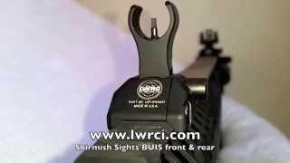 getlinkyoutube.com-LWRC Skirmish Sights: Showin' Some Love (BUIS)