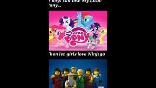 getlinkyoutube.com-Fnaf - Bonnie Song (Ninjago vs MLP)