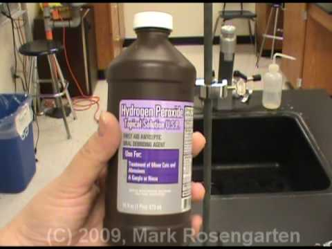 Chemistry Tutorial 8.02d:  Redox Reactions Demonstrations