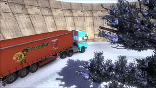 getlinkyoutube.com-Euro Truck Simulator 2 - Erwin Transporte in Russland / Russia / Россия *5*
