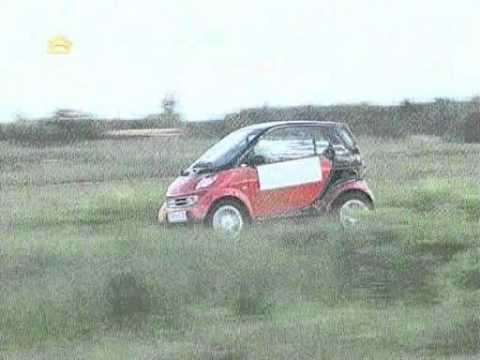 Тест-драйв Smart Fortwo и Ford Mondeo